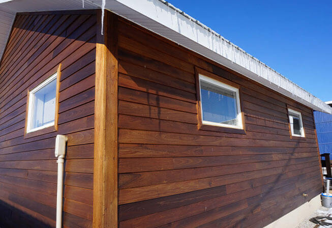 Americana™ Thermally Modified Wood Siding & Rainscreen